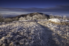Cold Mountain Icy Trail